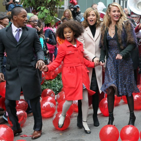 Here's Cameron Diaz and Quvenzhané Wallis in the Trailer For the Annie Remake