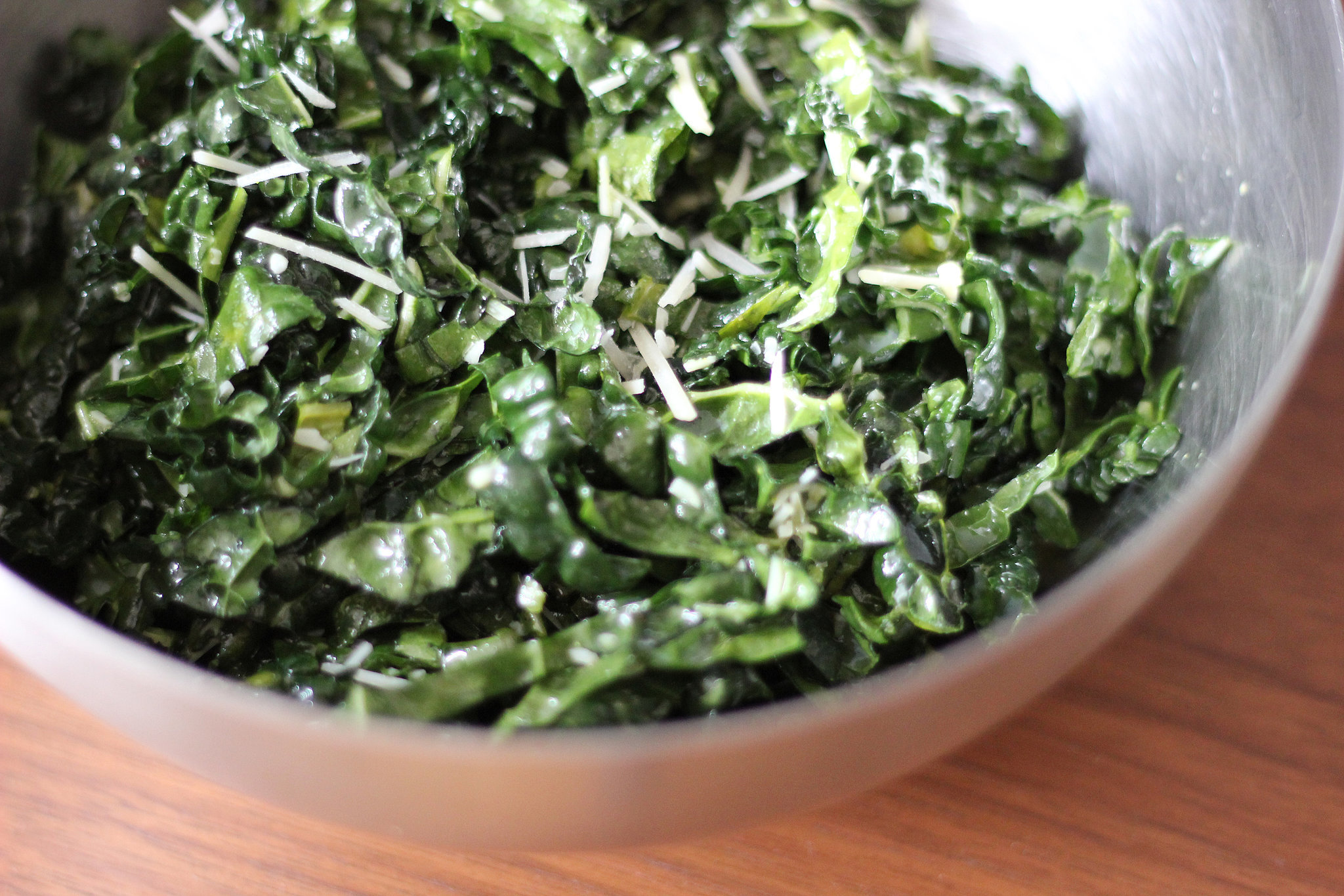 Healthy Kale Caesar Salad Recipe | POPSUGAR Fitness