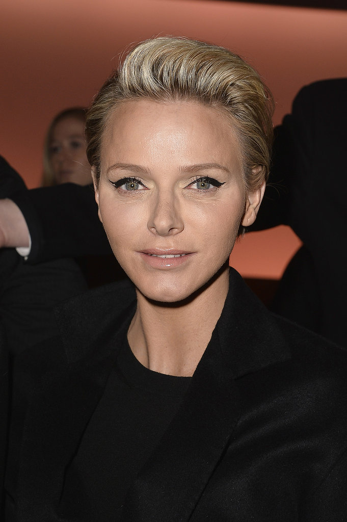 Princess Charlene of Monaco at Louis Vuitton