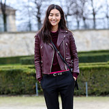 Model Street Style at Paris Fashion Week Fall 2014