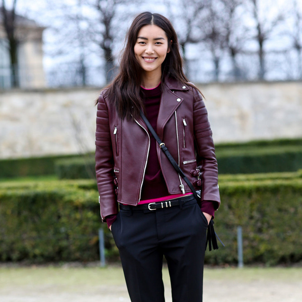 Model Street Style At Paris Fashion Week Fall 2014 Popsugar Fashion