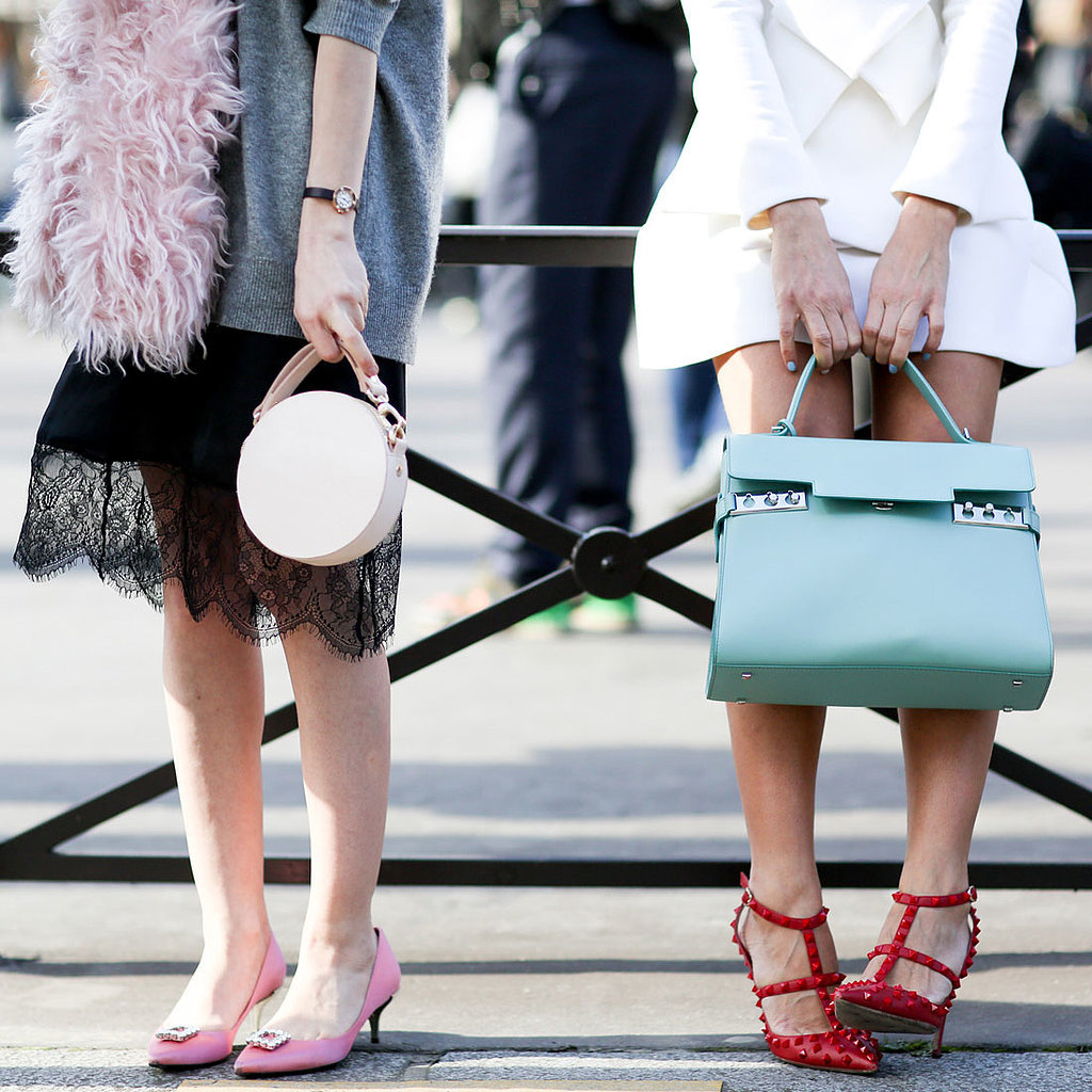 Street Style Shoes and Bags Paris Fashion Week Fall 2014
