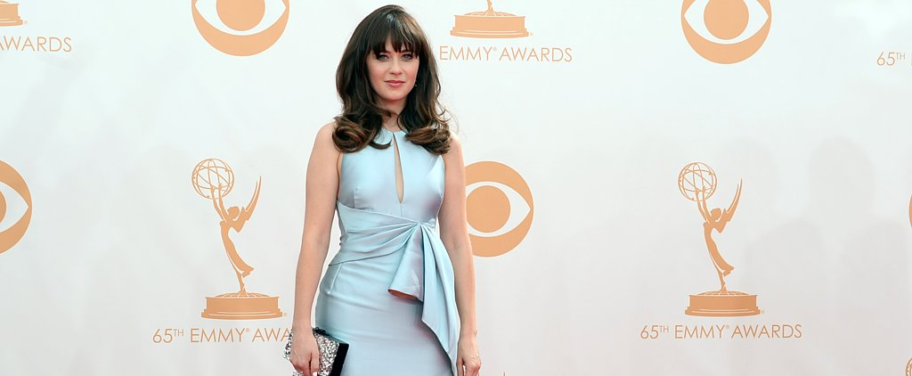Zooey Deschanel Debuted a Custom Dress on New Girl!