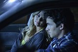 Wait, is that Ezra (Ian Harding)? In the same car as Ali? Source: ABC Family