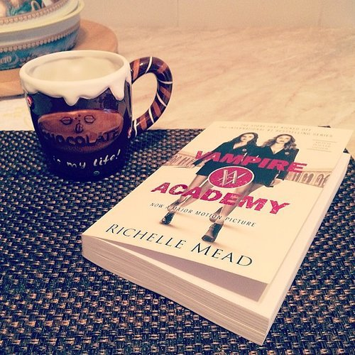 """Hot chocolate and Vampire Academy,"" said alexlondon23."