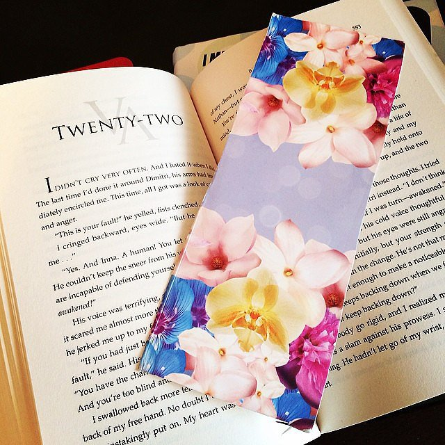 "Alexlondon23 writes, ""Love my mom and her DIY bookmarks!"""