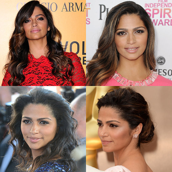 Camila Alves McConaughey Beautiful Hair, Beauty & Makeup