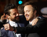 Aaron Paul and Dominic Cooper Speed Up Their Budding Bromance