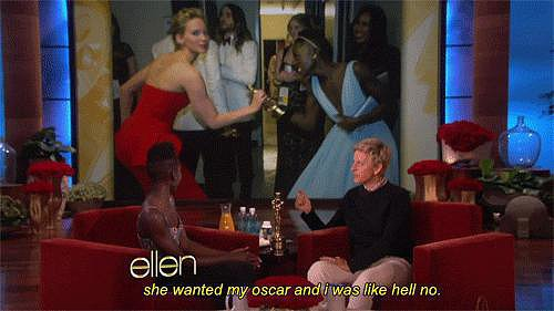"As Lupita Explains, She Was Like, ""Hell No"" to Jennifer"