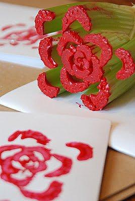 Celery Flower Stamp
