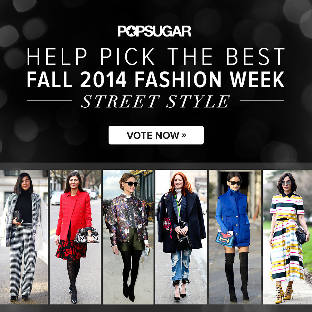 Fashion week street style game fall 2014 popsugar Fashion style games online