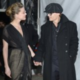 Amber Heard and Johnny Depp's PDA at Texas Film Awards