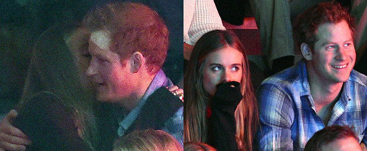 Prince Harry Jokes About Harry Styles Before Cuddling With Cressida