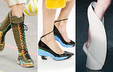 Paris Fashion Week's Surprise Shoe Trend: Flats!