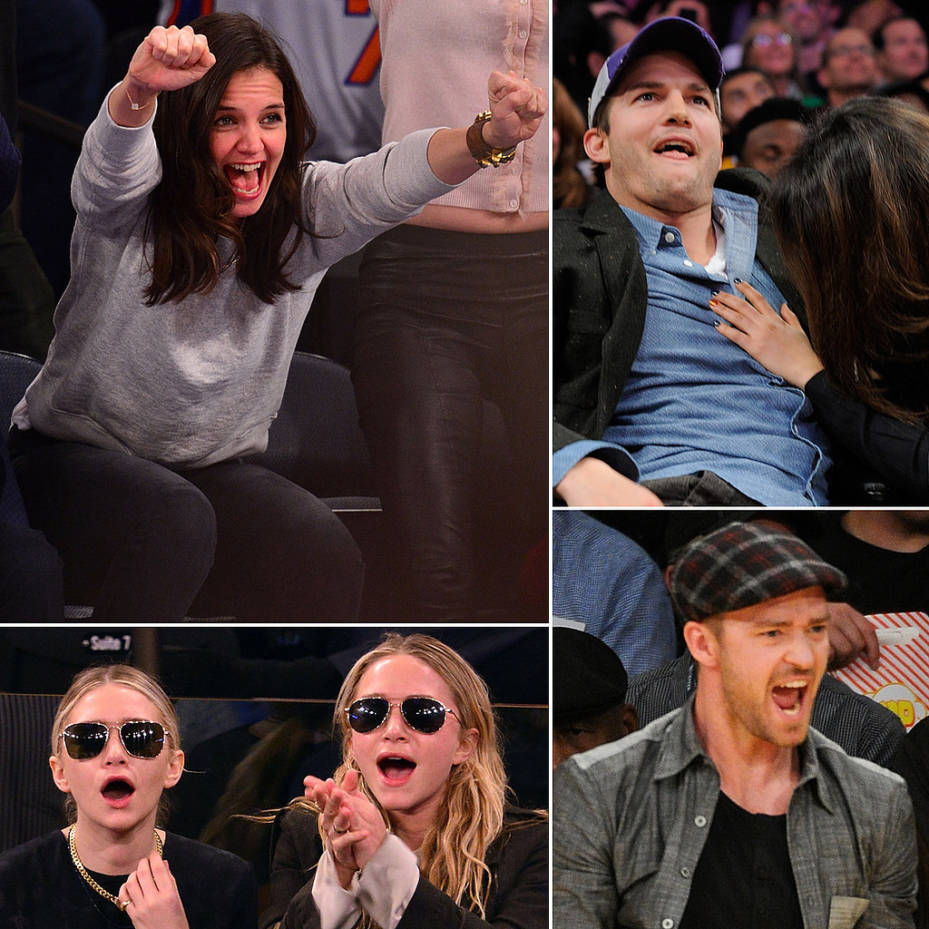 It's March Madness — See Stars Sitting Courtside