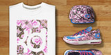 Floral Sneaker Trend Has Us Running From Winter