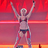 Miley Cyrus Performs in Her Underwear After Missing Costume Change