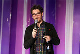 Adam Pally did his best stand-up on Sunday.