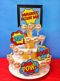 Friday: Wonder Woman Rice Krispies Pops
