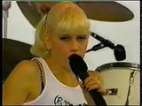 "1996: No Doubt performs ""Just a Girl"" in Panama City Beach."