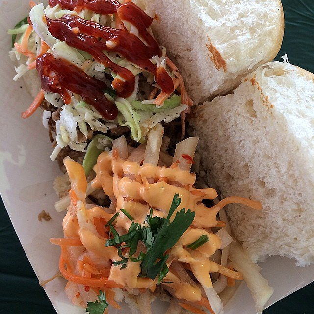 BBQ and Bánh Mì Sliders