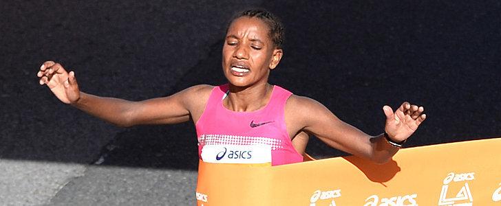 Amane Gobena, Gebo Burka Win LA Marathon