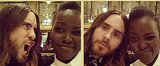 Lupita and Jared Ham It Up in a Series of Sweet Selfies
