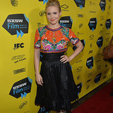 Kristen Bell's Veronica Mars Press Tour Outfits