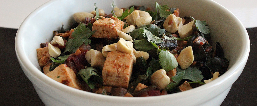 A Clean, Healthy Dinner: Indian-Spiced Chard