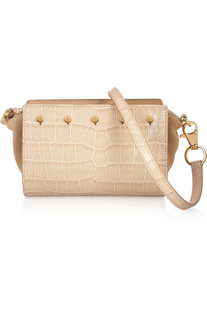 Alexander Wang Pelican Sling White Croc Bag ($231, originally $925)