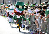 And leprechaun mascots.