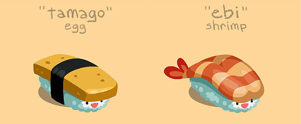 Squee With Delight at These Bouncing Sushi GIFs