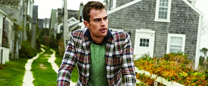 These Photos Will Lock In Theo James as Your New Crush