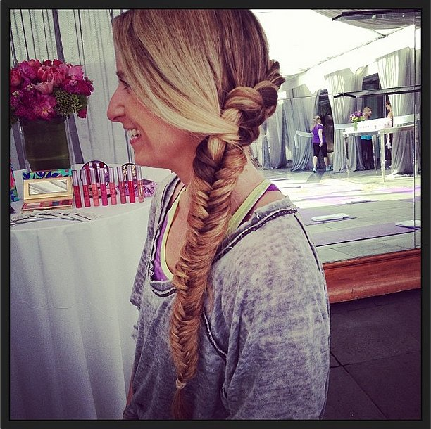 Oversize Fishtail Braid