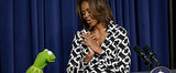 Smooches and Side Eye: Michelle Obama's Date With Kermit