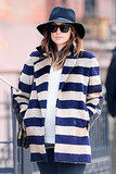 Olivia Wilde's Big Apple Bump