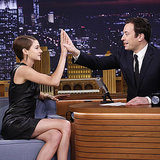 Shailene Woodley Brings Jimmy Fallon Horseradish