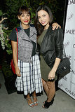 Jenna Dewan-Tatum met up with Rashida Jones on Wednesday in LA at the grand opening of Caudalie boutique spa.