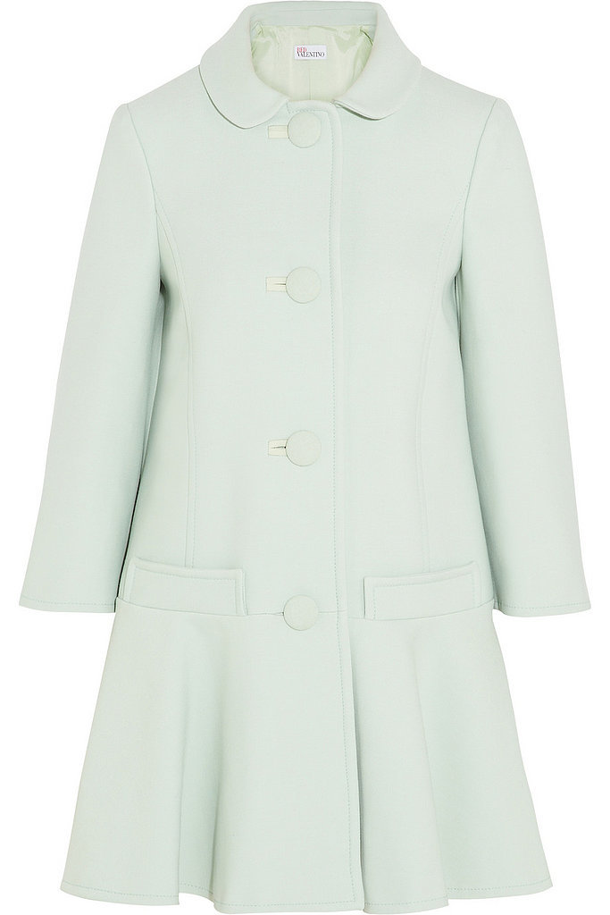 Red Valentino mint-green coat ($995)