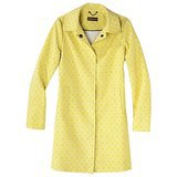 Merona yellow jacquard coat ($60)