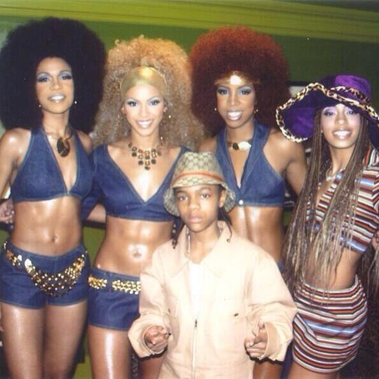 Destiny's Child With Afros in Throwback Photo From 2000