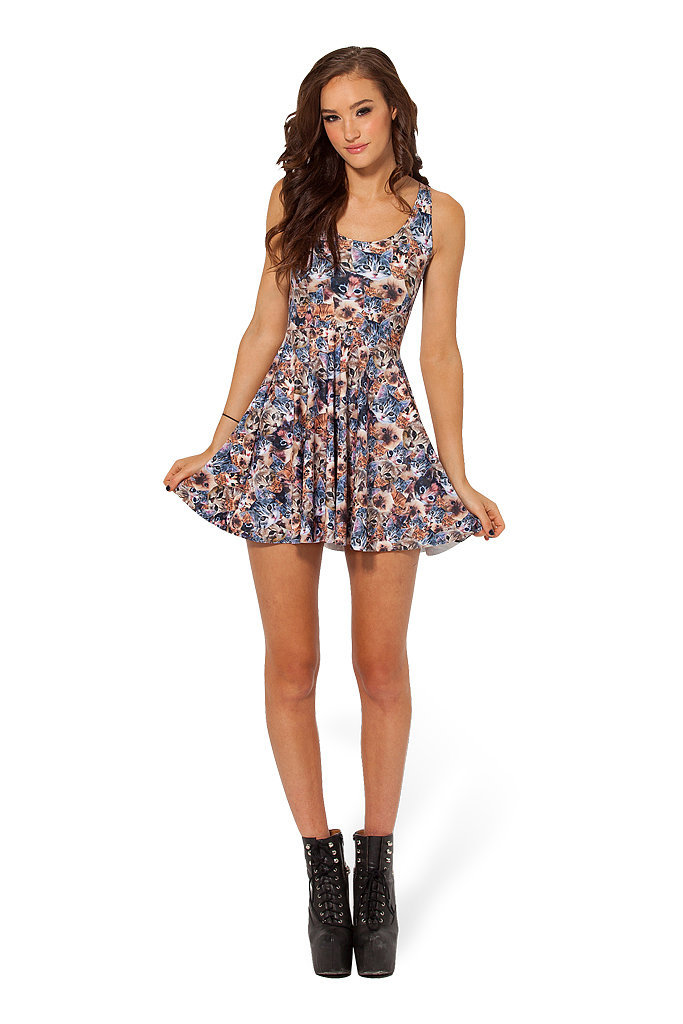 This cat dress ($77) is reversible, so you can show off those feline faces from all sides.