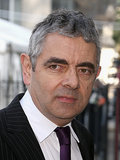 Rowan Atkinson paid his respects at the memorial.