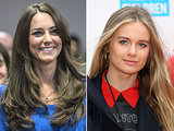 Kate Middleton and Cressida Bonas are not a natural fit