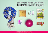 POPSUGAR Must Have Box Reveal | March 2014
