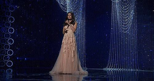 Idina Menzel's performance was your favorite part of the Oscars.