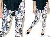 How Crazy Would It Be To Buy And Wear These Ryan Gosling Leggings?