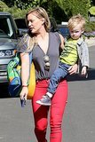 Hilary Duff & Luca: Mommy & Me