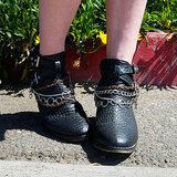 DIY: Cool Boot Jewellery