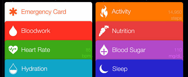 Is This What Apple's New Health App Will Look Like?